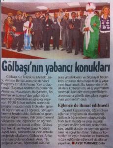 Türkische Zeitung März 2011