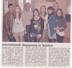 2011 Treffen in Spanien