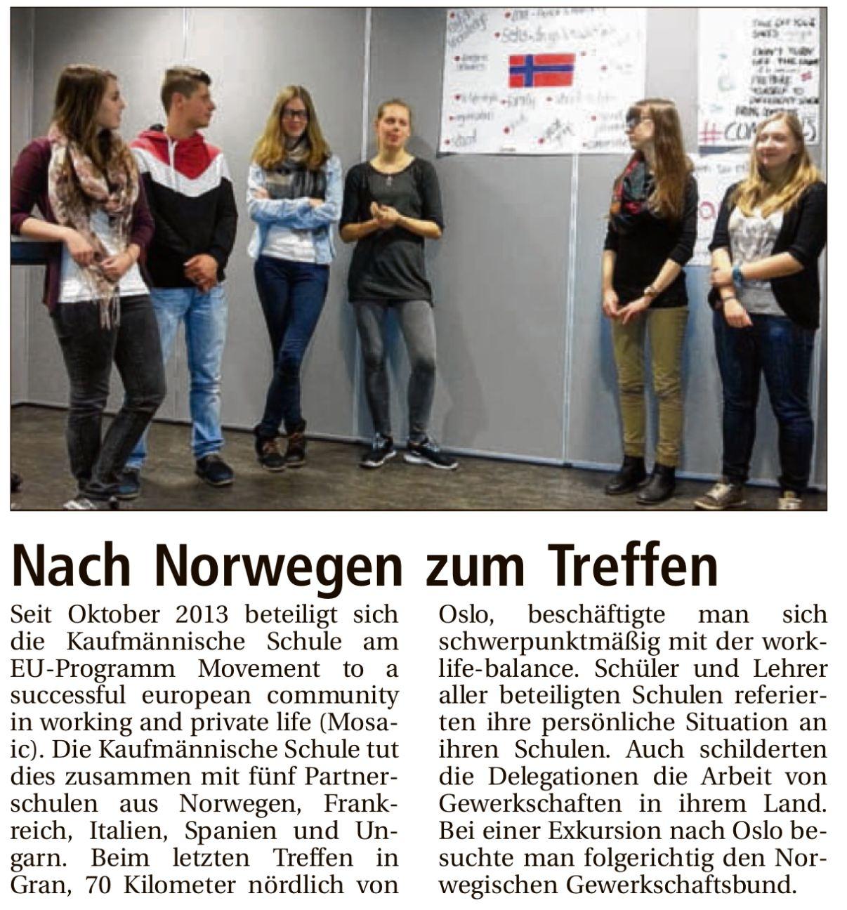 23.04.15 HZ HNP Projekttreffen in Norwegen
