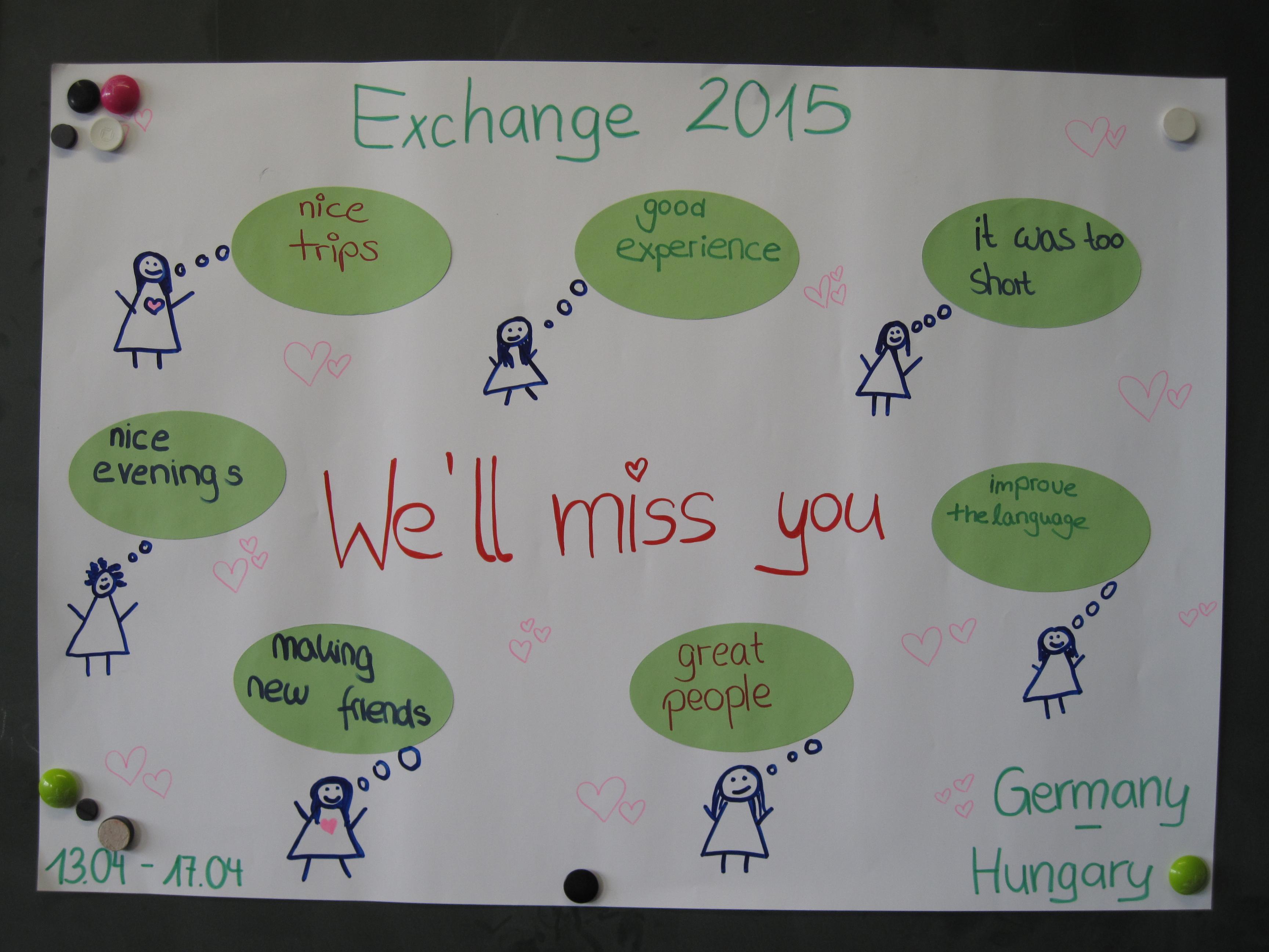 Austauschprogramm 2015 in Heidenheim