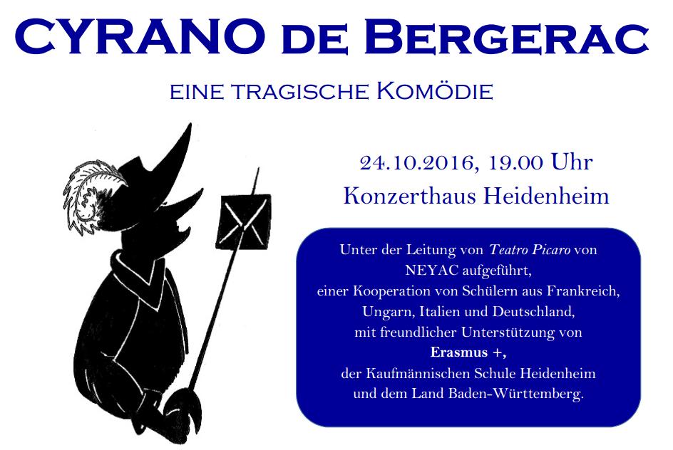 24.10.2016 Theateraufführung im Konzerthaus Heidenheim