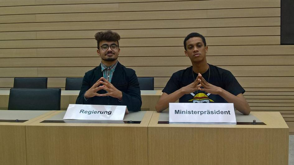 26.10.2016 Besuch im Landtag