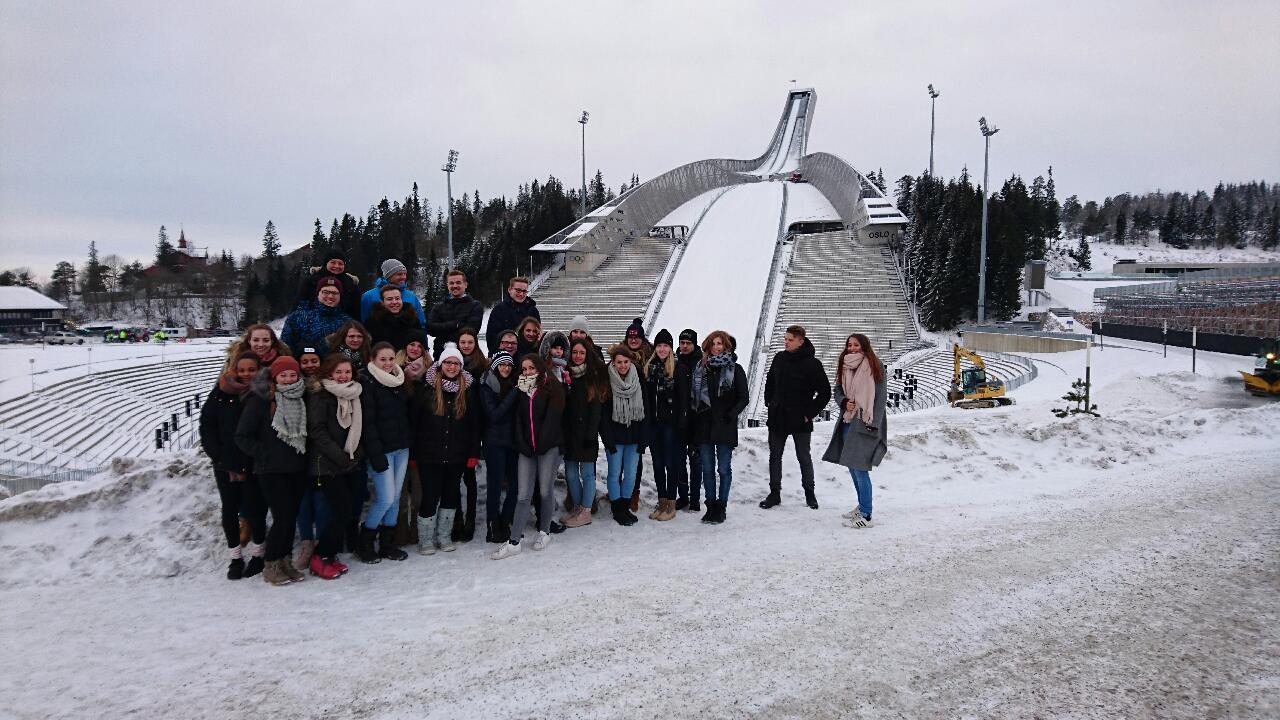Schüleraustausch mit der norwegischen Videregaende Scole in Gran