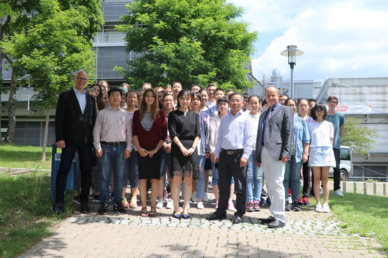 HZ 27.07.17 Kaufmännische Schule startet Ausstausch mit China