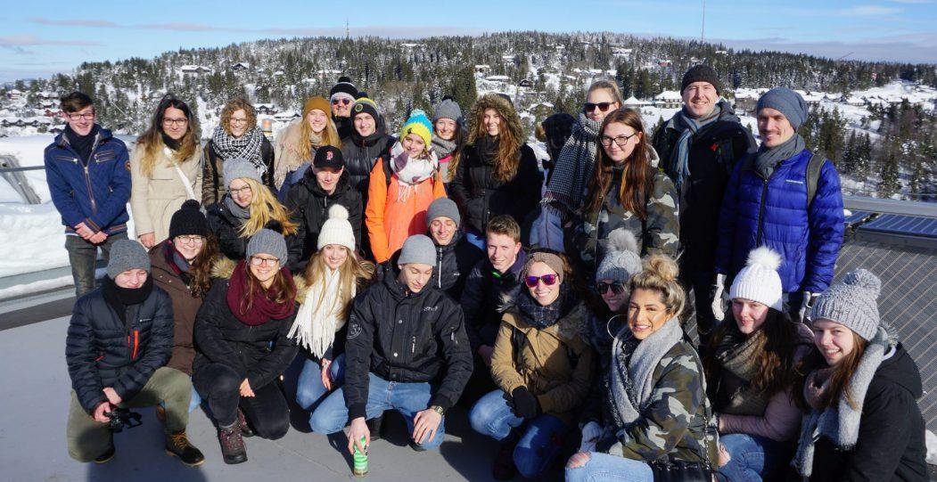 Von Lachs bis Friedensnobelpreis - KSH zu Gast in norwegischer Partnerschule