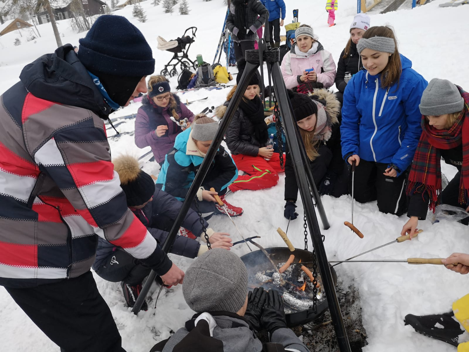 16.-22.2.19 Besuch der Partnerschule in Gran/Norwegen