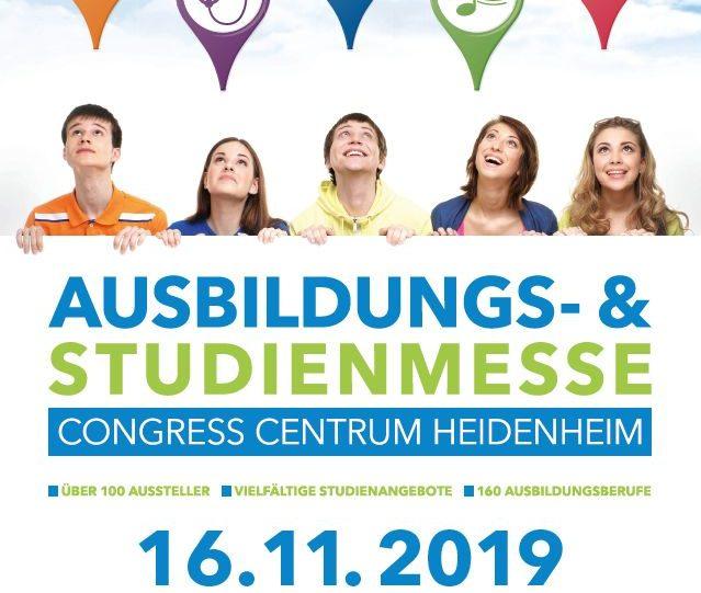 Ausbildungs- und Studienmesse Landkreis Heidenheim