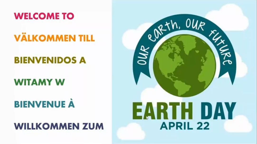 Erasmus + meets international EARTH DAY